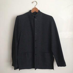 Eileen Fisher Wool Button up coat